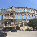 Pula Kroatien Istrien Amphitheater