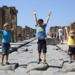Golf von Neapel Kinder