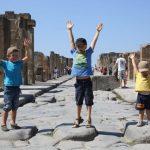Pompeji mit Kindern